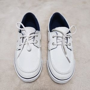 Timberland Earth Keepers White Boat Shoes